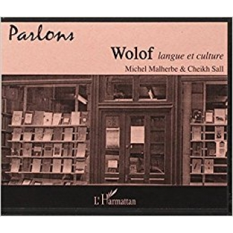 Parlons wolof, langue et culture.CD.