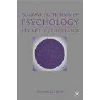 The Palgrave dictionary of psychology