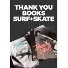 Lamono Books surf & skate. Thank you (pack 2 vols.)