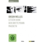 Orson Welles, 3 DVDs