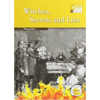 Witches Secrets And Lies - Burlington Activity Reader - 4º ESO