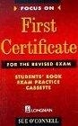First certificate. Student's book exam practice cassette