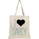 LoveLit Darcy Heart Tote Bag