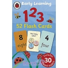 Early Learning 1 2 3. 52 Flash Cards (Includes 30 reward stickers)