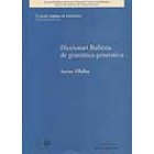 Diccionari Ballesta de gramàtica generativa (Catalan Journal of Linguistics. Monografies)