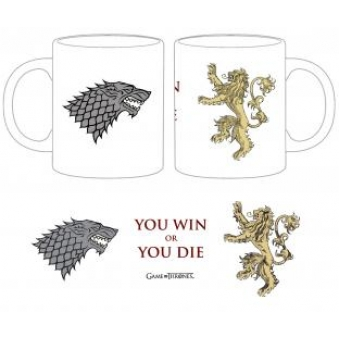Taza-Juego de Tronos-You win or You die