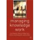 Managing knowledge work