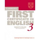 Cambridge First Certificate in English 3. Student's Book. Examination Papers