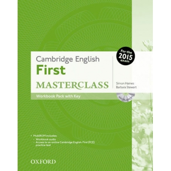 Cambridge English: First Masterclass: Workbook with key