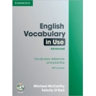English Vocabulary in Use Advanced with CD-ROM with answers