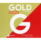 Gold B1 Preliminary New Edition - Class CD