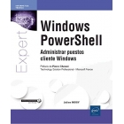 Windows PowerShell. Administrar puestos cliente Windows