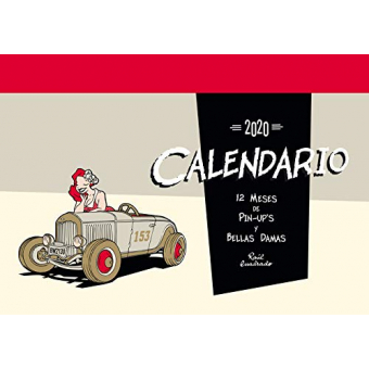 Calendario 2020. 12 meses de Pin-Up's y bellas damas