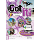 Got It! Plus (2nd Edition) 3. Studen's Book + Workbook with Access Card