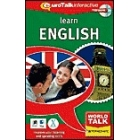 World Talk :  Aprenda Inglés.   Nivel intermedio.  CD-ROM