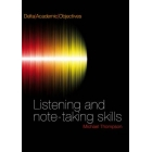 Delta Academic Objectives: Listening and note-taking skills