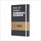Moleskine* Libreta Denim Large Rayada ?THIS IS YOURS?