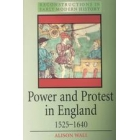 Power and protest in England,1525-1640