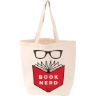 Love Lit  Book Nerd Tote Bag