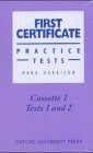First Certificate Practice Tests. Cassettes (3)