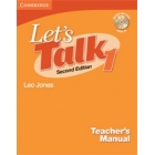Let's Talk 1  Second edition Teacher's Manual with Audio CD