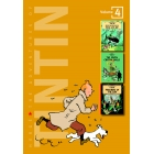 The Adventures of Tintin 3 in one. Volume 4