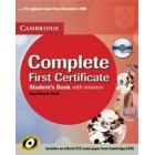Complete First Certificate. Student's Book with answers and CD-ROM and Class Audio CD (3)