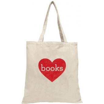 Love Books Tote Bag (LoveLit)