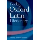 Pocket Oxford latin dictionary (Latin-english/english-latin)