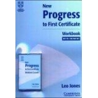 New Progress to First Certificate. Workbook with key + cassette