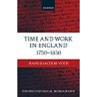 Time and work in England, 1750-1830