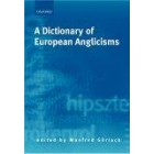 A dictionary of european anglicism