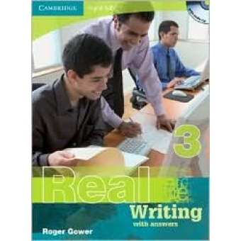 Real Writing 3 with answers + Audio CD. Nivel B2 Intermediate-Upper-Intermediate.